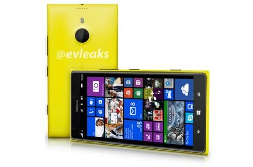 Nokia Lumia 1520 - Image credit evLeaks